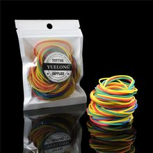 200pcs Tattoo Rubber Bands Colorful Silicone Rubber Tattoo Accesories For Tattoo Machine Gun Supply TA-407A