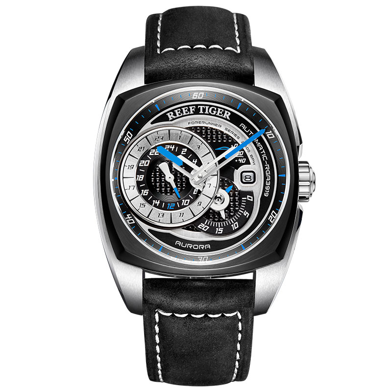 2019 Reef Tiger/RT New Design Fashion Sport Watches for Men Waterproof Multifunction Automatic Watches Relogio Masculino RGA3319 機械 式 腕時計 スケルトン