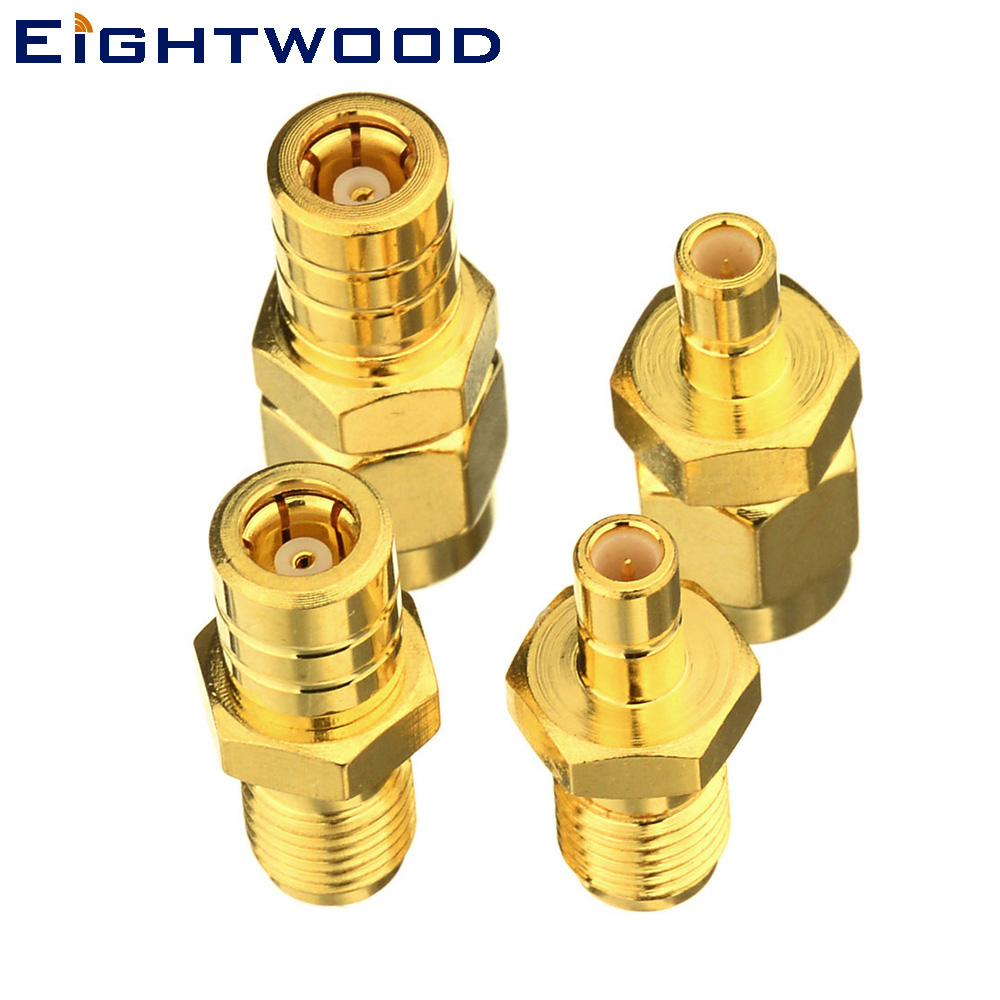 Eightwood Satellite Radio Coaxial Adapter SMA to SMB Connector Kit for Car Satellite SIRIUS XM DAB Radio Antenna Pigtail cable