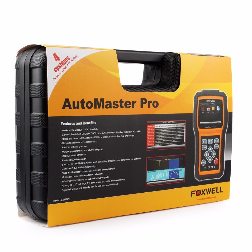Foxwell NT414 OBD OBD2 Automotive Scanner Car Diagnostic Tool-08