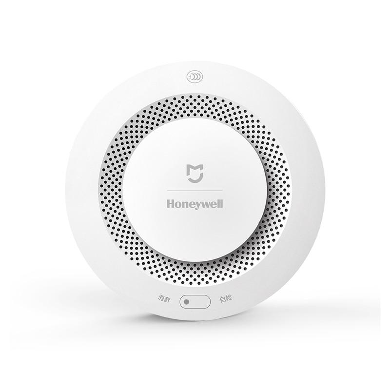 2017 Original Xiaomi Mijia Honeywell Fire Alarm Detector Audible Visual Smoke Sensor Remote Mi Home Smart