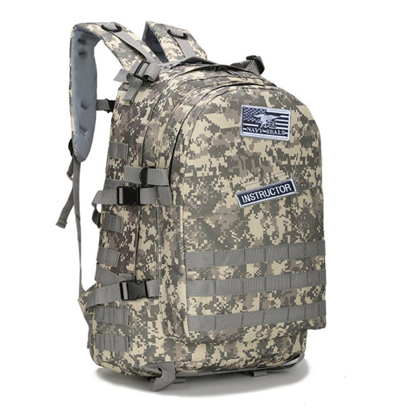 Men Pubg Camouflage Backpack Male Hot Game Battlegrounds Winner Chicken Dinner Level1-3 Instructor Cosplay Backpacks
