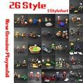 26 Стиль 7.5 см Фигурку Playmobil Спасательных Скорой Помощи Куклы Королевский Банкет Гардеробная Комната Строительный Блок Minifigur Игрушка в Подарок