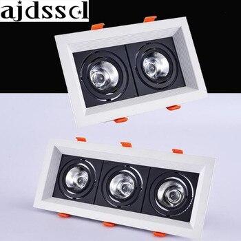 광장 20 w 30 w ac110/220 v led 디 밍이 가능한 천장 downlight recessed led 벽 램프 스포트 라이트 홈 조명 110 v 220