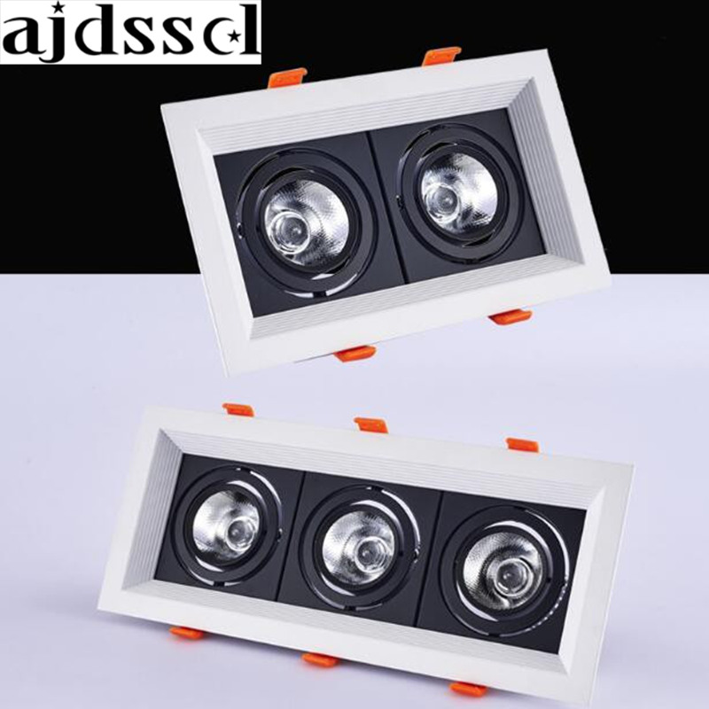 square 20W 30w AC110/220V LED dimmable Ceiling Downlight Recessed LED Wall lamp Spot light LED For Home Lighting 110V 220