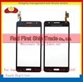 10 Unids/lote Para Samsung Galaxy Gran Primer VE G531 G531F Digitalizador Pantalla Táctil Sensor de Frente Negro Lente de Cristal Blanco de Oro