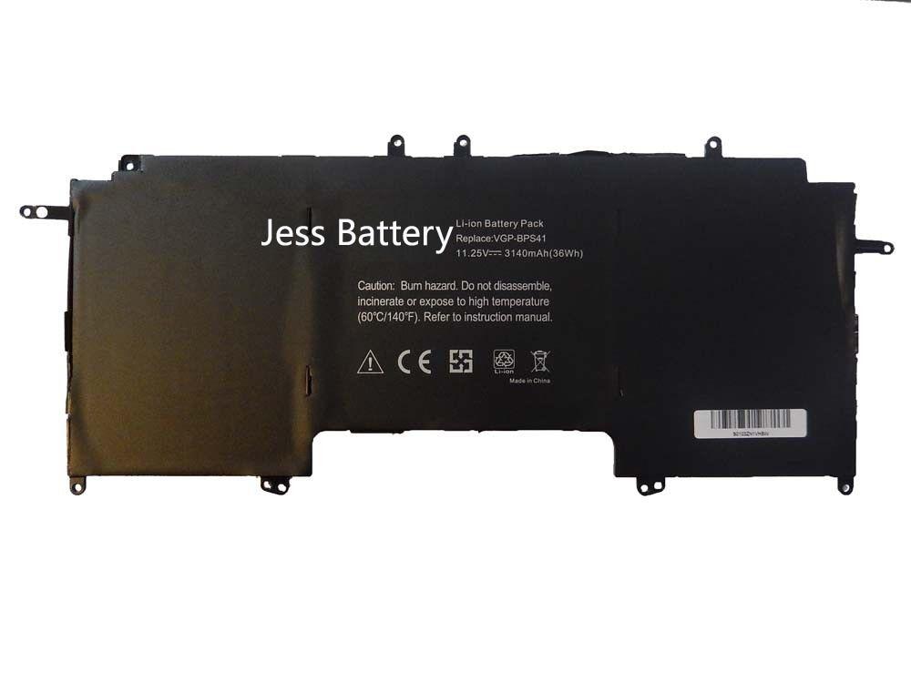 цена на 36Wh New laptop battery for Sony Vaio Flip 13 SVF13N SVF13N13CXB Series VGP-BPS41