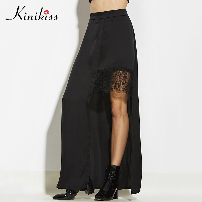 Женские длинные черные юбки