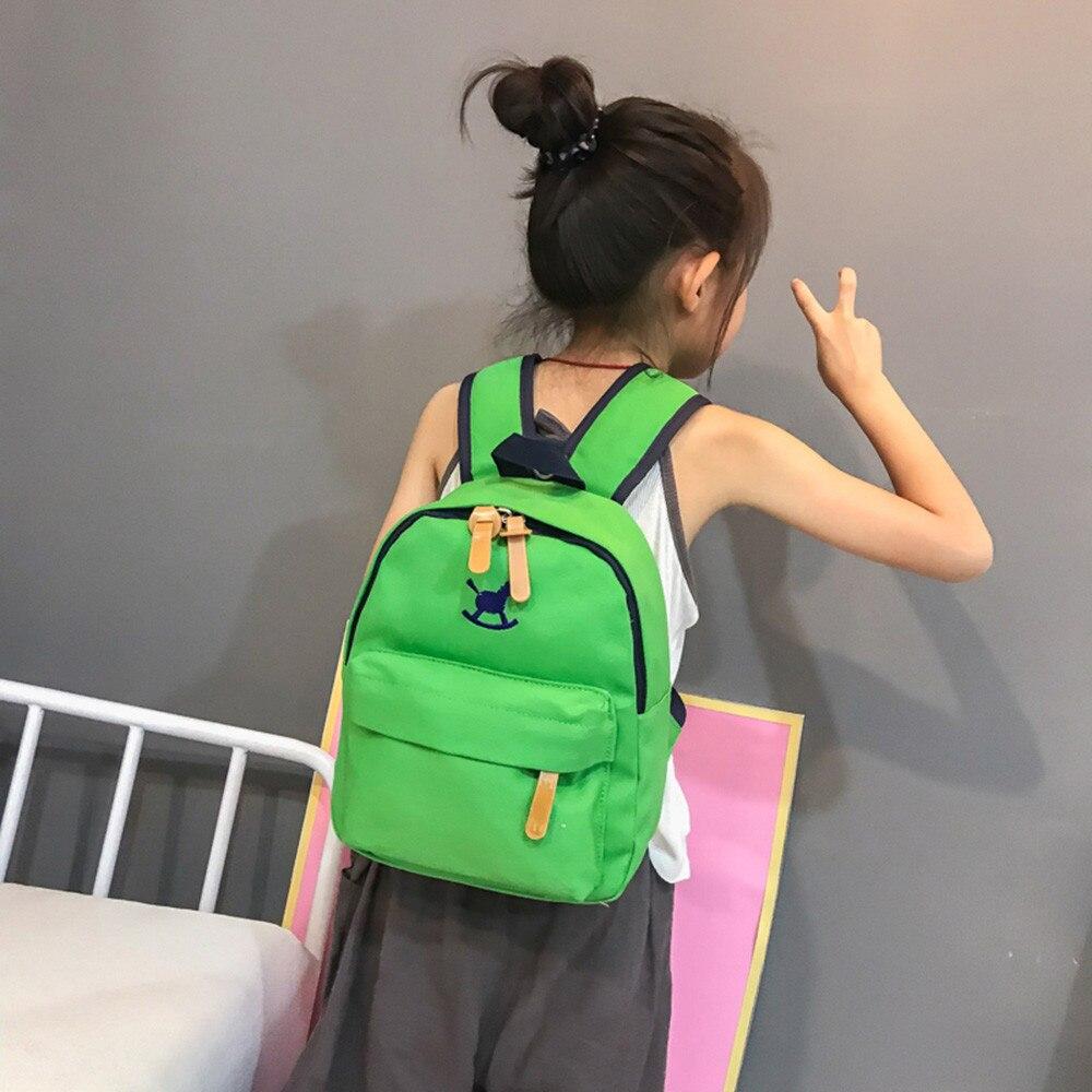 f122059ddec8 MUQGEW mochila infantil 2018 Girls Boys Kids Animal Printed School Bags  Nylon Zipper Packback Bags For Girls sac a dos enfant -in School Bags from  Luggage ...