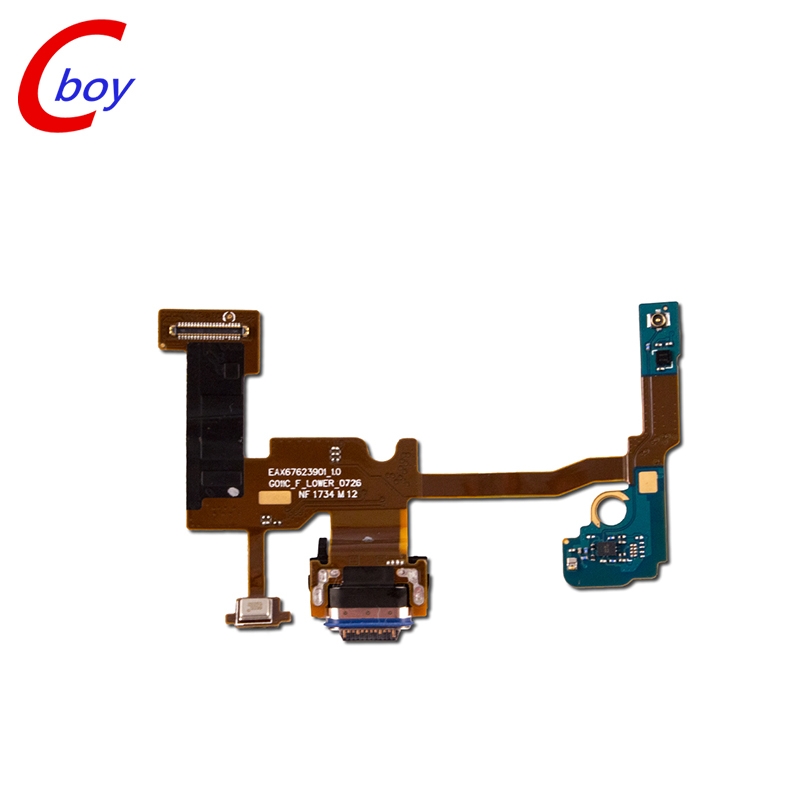 PCB Board Micro USB Charger Dock Connector Charging Port for google pixel 2 Charging Port Flex Cable For Google Pixel 2 XL