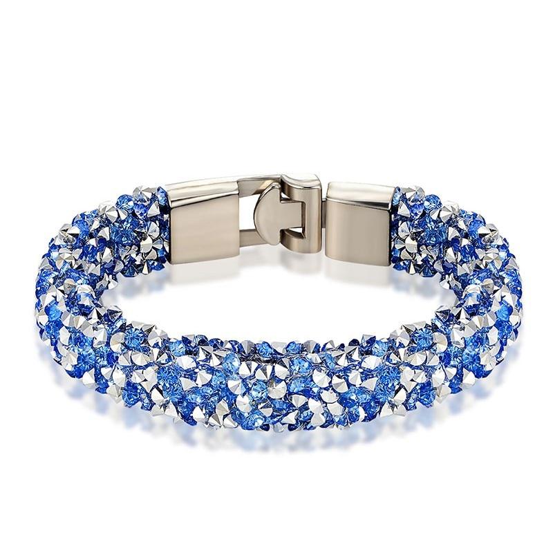 Купить janeyacy новинка 2017 модный браслет с кристаллами мужской и