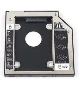 WZSM 12.7mm SATA 2nd HDD SSD Hard Drive Caddy for Lenovo IdeaPad G500 G510 G530 G550 G555