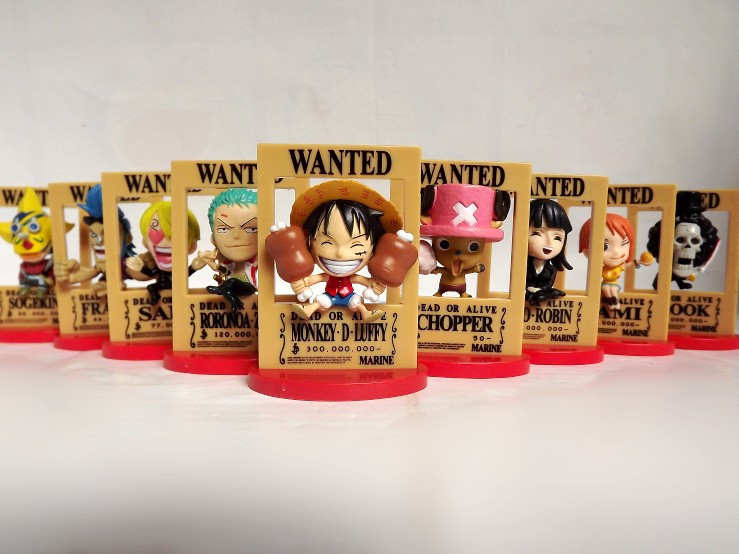 One Piece Wanted Figures