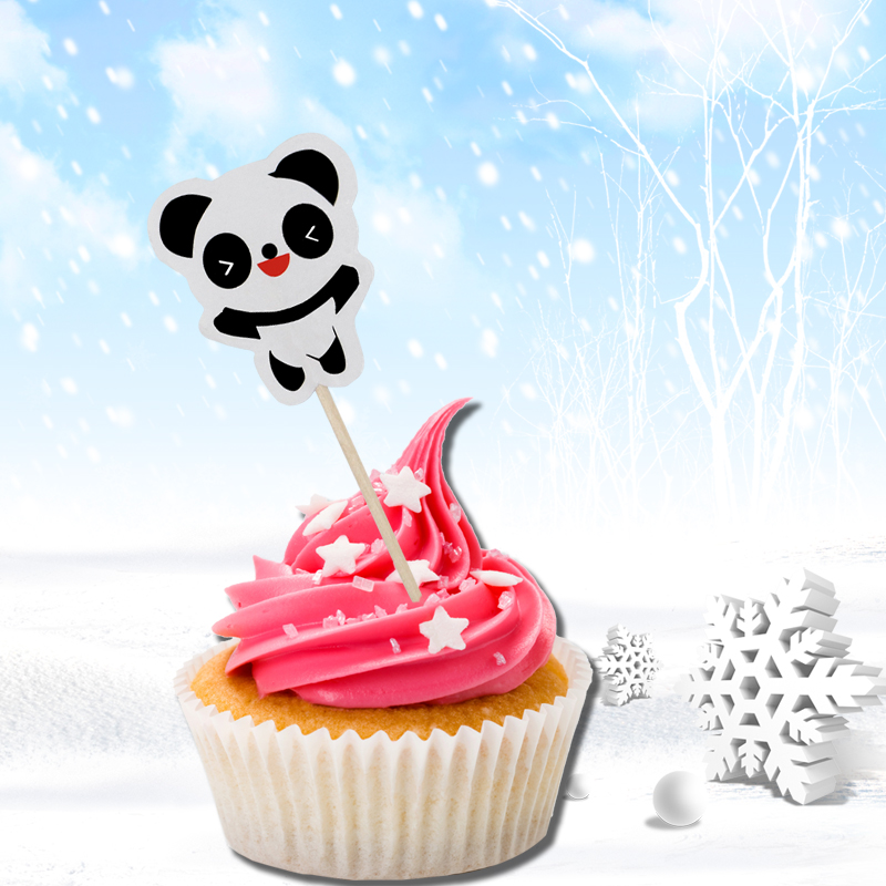 Omilut Panda Birthday Party Cake Decoration Children S Party