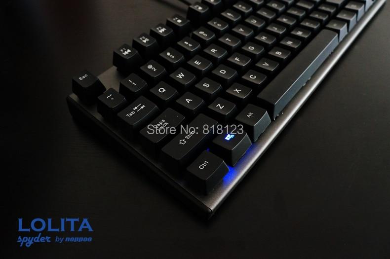 Herní klávesnice TKL mechanická klávesnice kailh mx modrá - Počítačové periferie