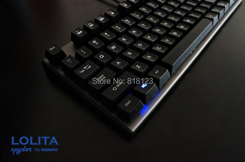 все цены на Game keyboard TKL mechanical keyboard kailh mx blue switches LOL tenkeyless 87 keys gaming NKRO онлайн