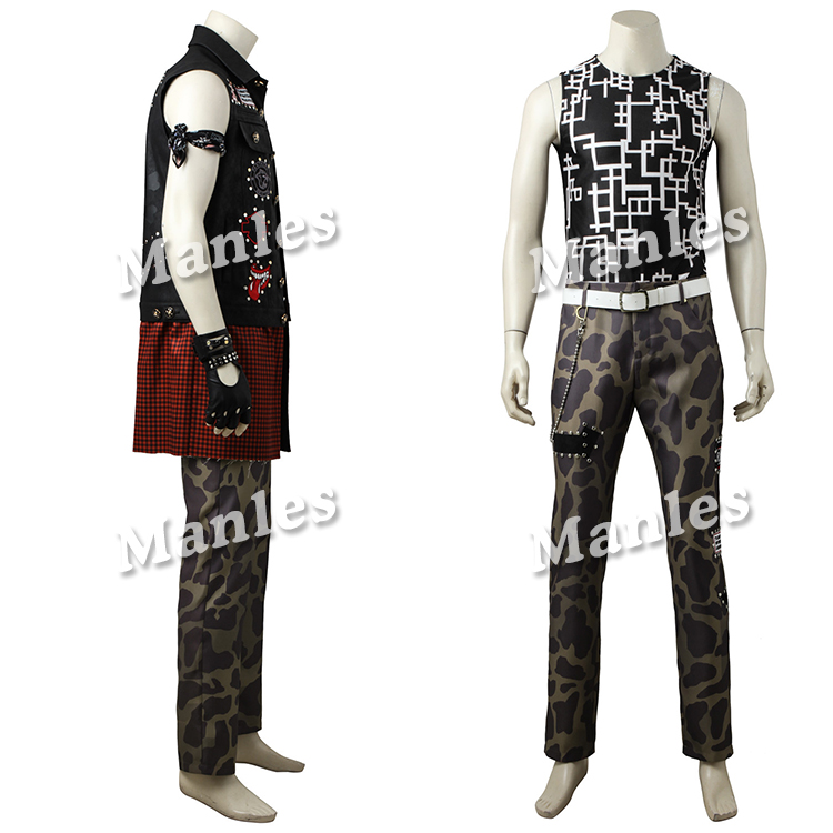 Hot Anime Game Cosplay Final Fantasy XV Prompto Argentum Costume Clothing Halloween Christmas Men Suit Male Custom Made (4)