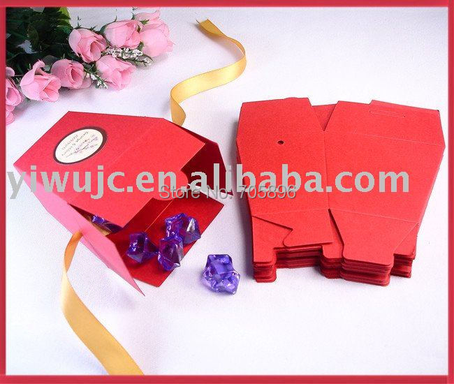 Red Chinese Take Out Favor Boxes : New free shipping red wedding chinese take out favor boxes