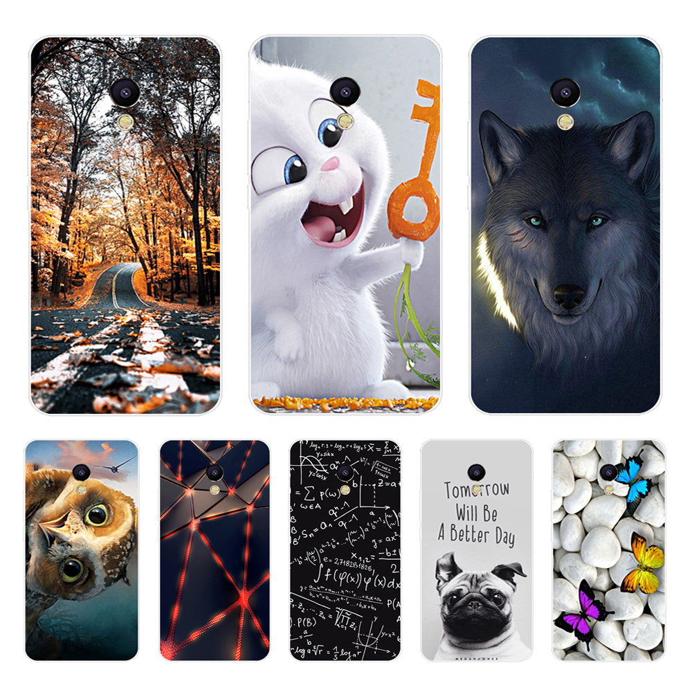 Case For Meizu M5s Meilan 5s MeiBlue 5s Case Back Silicone Phone Cover for Meizu M5S 5 2 quot Soft TPU Shells Coque Fundas Capa Bags in Half wrapped Cases from Cellphones amp Telecommunications
