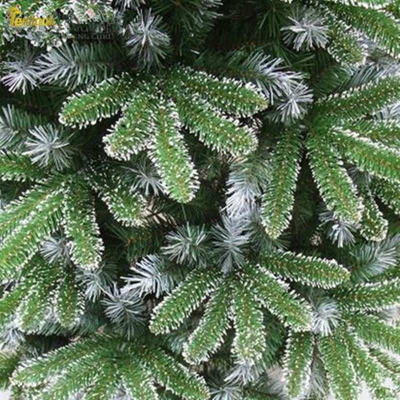 Teellook 1,2 м 3,0 м Снежинка шифрование смешанные пять пальцев Автоматическая Рождественская елка Рождество отель украшения для дома - 4
