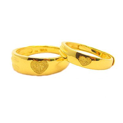 a2c956ae50 Wedding Ring,24K yellow Gold, Couple Ring, Engagement ring,Soulmate,free  shipping