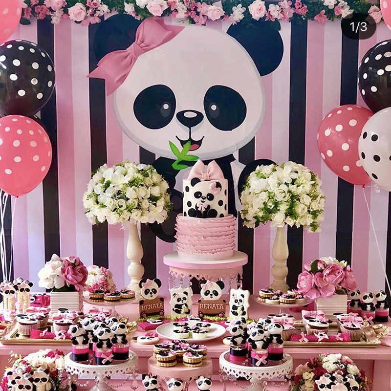Omilut Panda Birthday Party Diy Decoration Panda