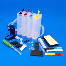 Continuous Ink Supply System DIY CISS ink tank kit 4 color HP301 122 60 61 21 22 300 27 28 45 678  901 802 Series printer  universal 500ml color diy continuous ink supply system ciss tank for hp epson canon brother printer ciss system tank plotter