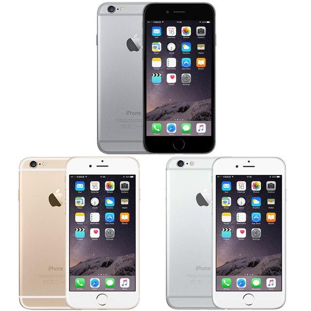 "Unlocked Apple iPhone 6 IOS Dual Core 1.4GHz 4.7"" inch RAM 1GB ROM 16/64/128GB 8.0 MP Camera 3G WCDMA LTE Used Mobile phone 2"