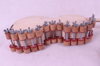 28 Pcs Violin Clamps Fix Top & Back Violin Tools Instrument Make Tool,Violin Accessory Durable Strong #20-Q20
