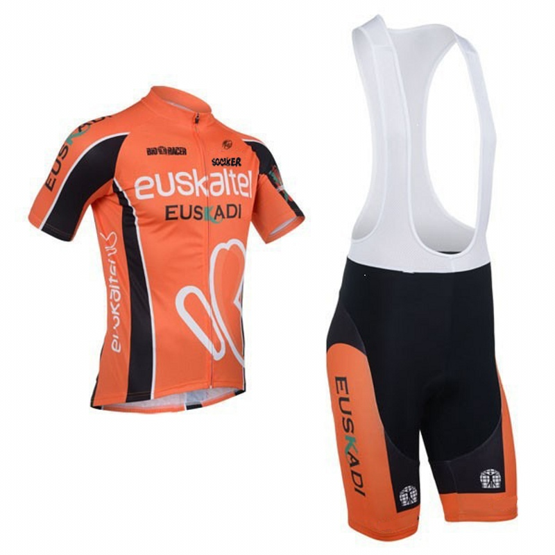 fe114823d Spain summer Short sleeve team Euskaltel euskadi quick dry Cycling jersey  breathable cloth MTB Ropa Ciclismo Bicycle maillot gel-in Cycling Sets from  Sports ...