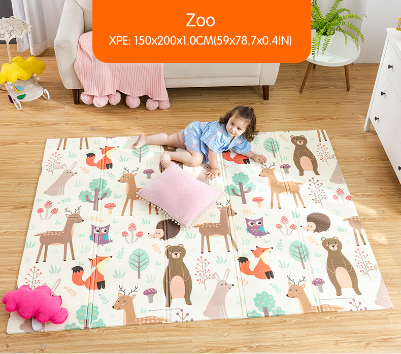 HTB13GuOcvWG3KVjSZFgq6zTspXaN Infant Shining Baby Play Mat Xpe Puzzle Children's Mat Thickened Tapete Infantil Baby Room Crawling Pad Folding Mat Baby Carpet
