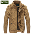 TAWILL Men jacket military army soldier cotton Air force one male Brand clothing Spring Autumn Mens jackets Plus size 4XL 9931