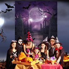 OurWarm Halloween Party Decoration Costume Horror Mask Pumpkin Lights Home Table Decoartion Games