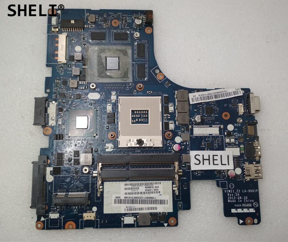 SHELI For Lenovo Z400 P400 Motherboard wth N13P-GLR-A1 2GB LA-9061P 90002112 video card for asus notebook a55v k55v k55vm k55vj gt630m gt635m 2gb n13p glr a1 graphic card