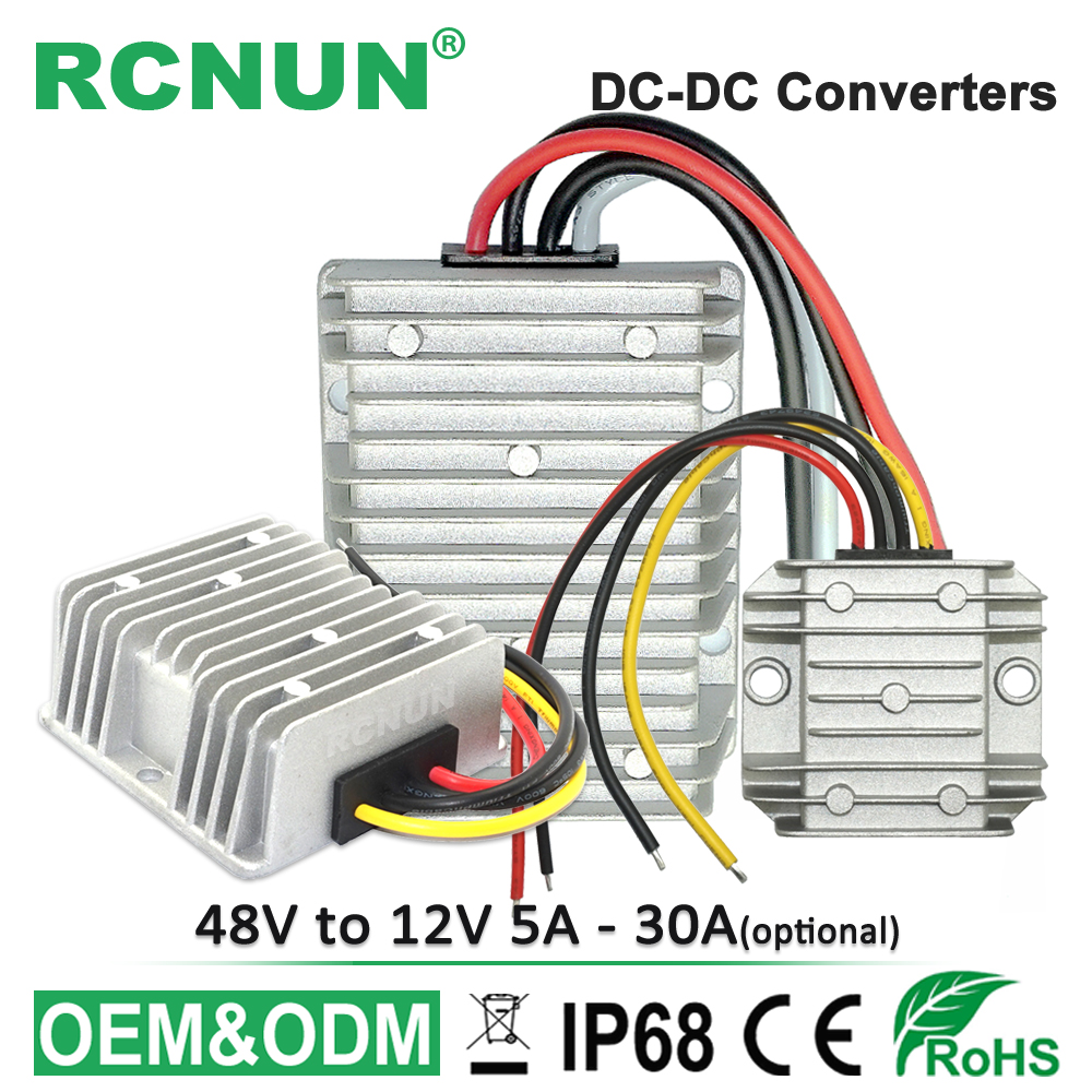 48v To 12v 20a 240w Voltage Reducer Dc Step Down Converter Ce Golf Cart Wiring Diagram 36v 5a 10a 15a 25a 30a Waterproof