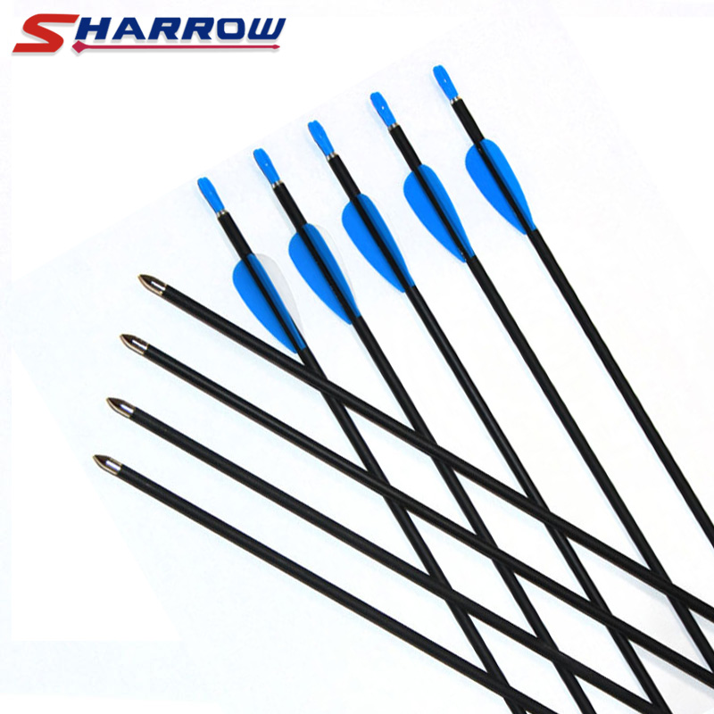 5 Pcs 1000 Spine Carbon Arrows Shooting Sporting Entertainment Hunting Outdoor