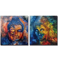Diy Diamond Painting Two Picture Combination Cross Stitch Sqaure Drill Diamond Mosaic Embroidery Needlework Home Decor