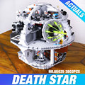 Free Shipping LEPIN 05035 Star Wars Death Star 3804pcs Building Block Bricks Toys Kits Compatible with 10188