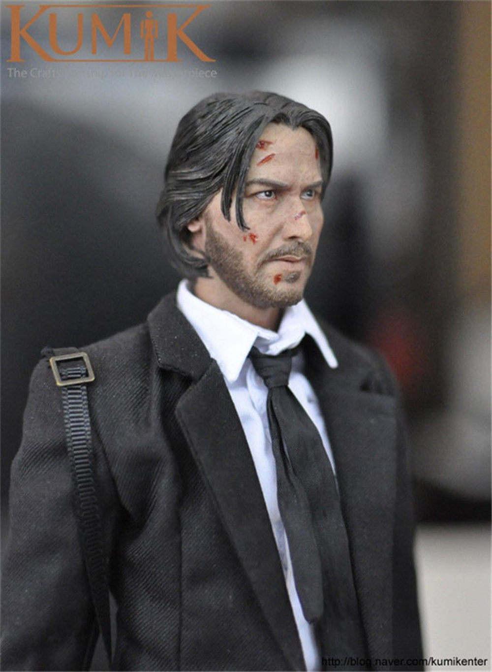 1/6 KMF037 Type John Wick Retired Killer Keanu Reeves 12'' Male Figure WIth Weapons & accessories  For Collection 1