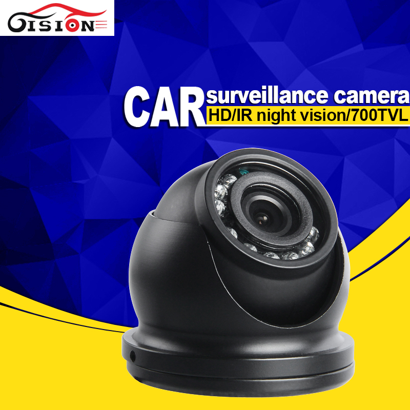 Metal Car Camera Waterproof CCD Dom Vehicle Accessories 3.6MM Lens Real Time Mini Camera Cheap Selling