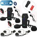 El Envío Gratuito! 2 Unidades FDC COLO-RC Motocicleta Bluetooth 1000 m Intercom + Control Remoto + 2 Auriculares