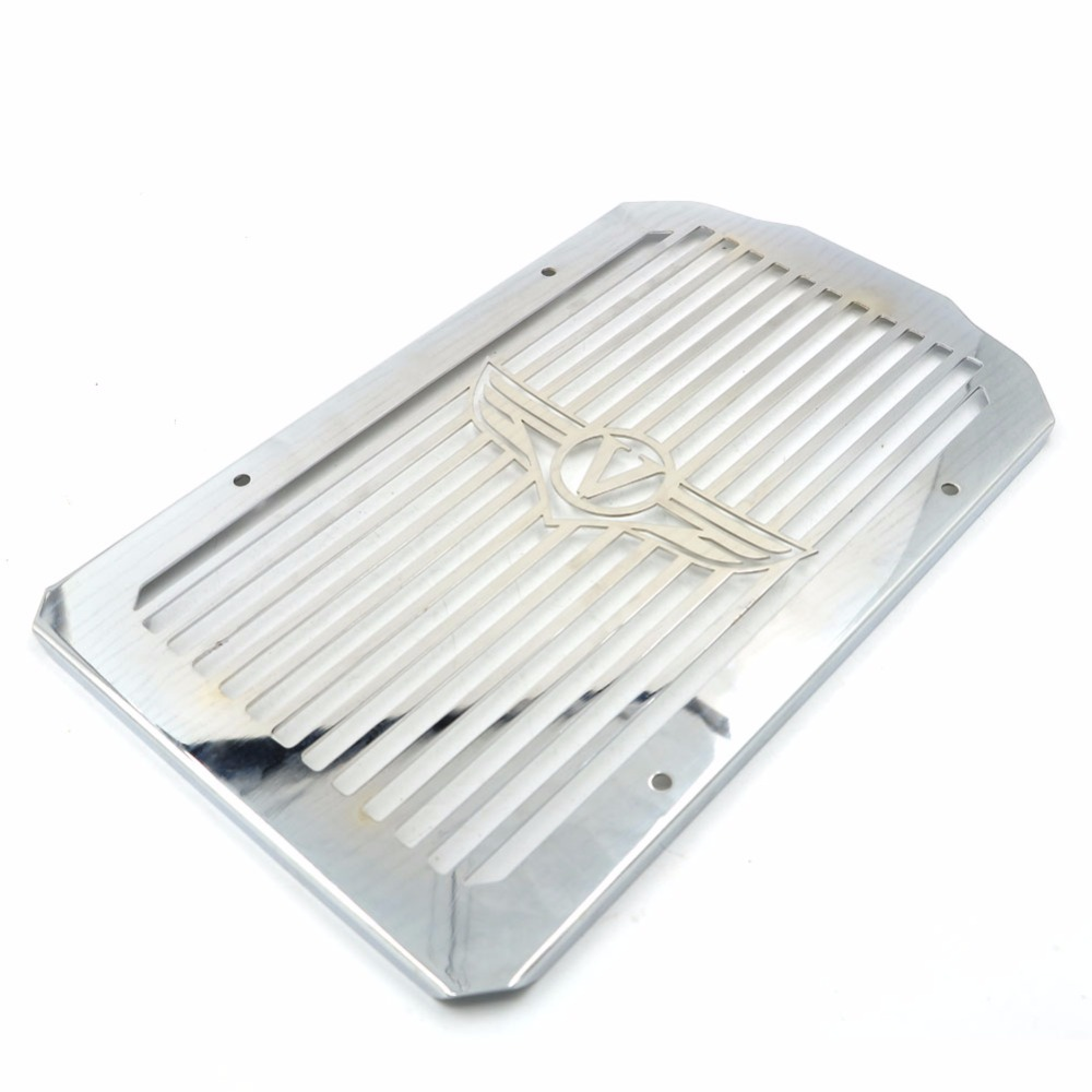 Motorcycle Radiator Cover Bezel Grille Guard Protector for Kawasaki Vulcan 900 VN900 B Classic LT Custom