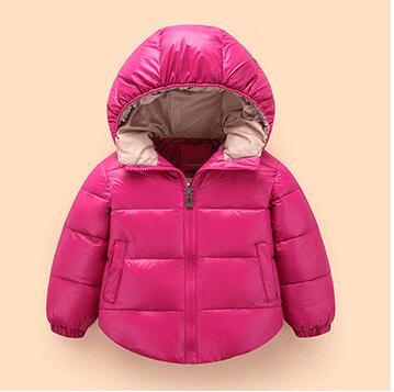 9403538423bf0 Manteau enfants filles garçons doudoune 18 mois 5 ans mois sweats à capuche  chauds imperméable manteau d hiver noël enfants Outwear dans Bas et parkas  de ...