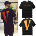 European and American Street Tide Brand Tracksuit Vlone Off White Men Women Hip hop Big Vlone Letters Baseball Uniform