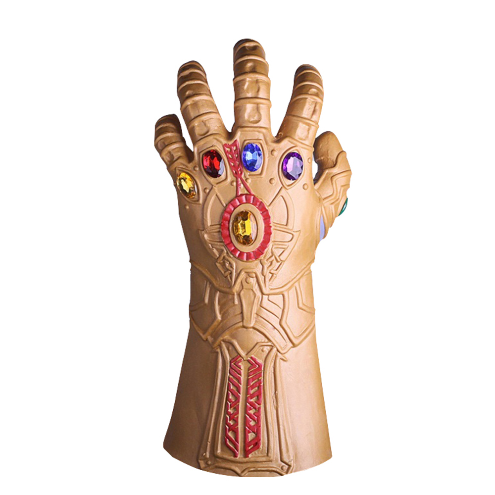 2018 New Movie Avengers Infinity War Thanos Cosplay Gloves Halloween Cosplay Prop For Adult Carnival Men Gloves One Size