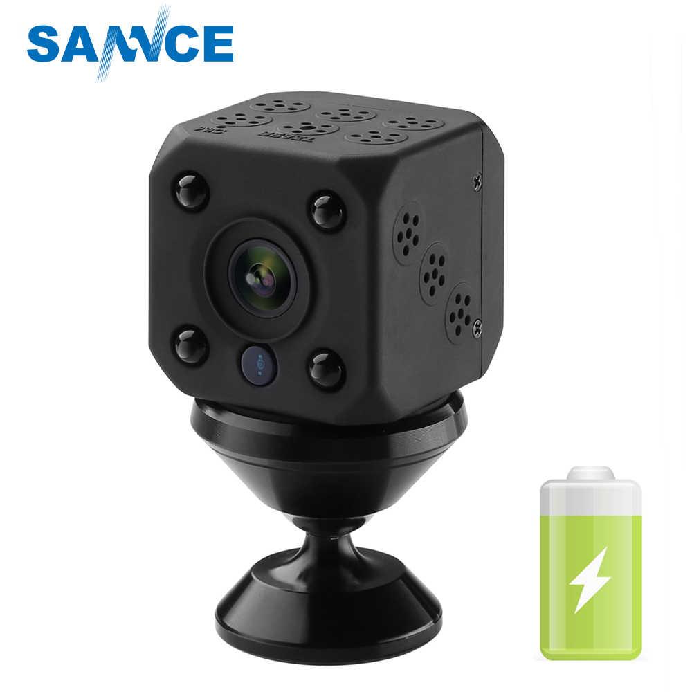 SANNCE 720P Wireless IP Camera built in battery Smart WiFi Camera WI-FI Surveillance Security Baby Monitor Mini CCTV Camera