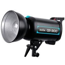 Godox QS300 QS-300 300 Вт 300Ws Hi продолжительность Студия флэш освещения лампы Strobe головы 220 В