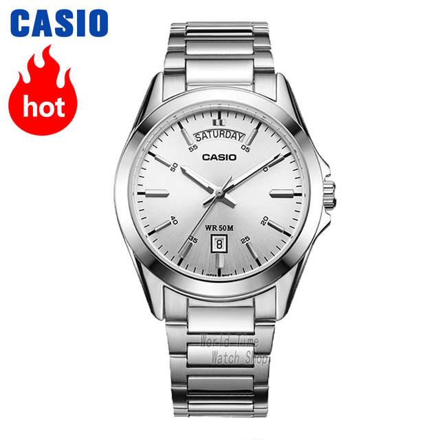 f9656006142 Casio relógio Analógico relógio de quartzo dos homens simples design de  estilo de negócios relógio à