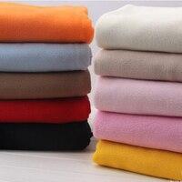 159 50cm2pc Warm Polar Fleece Knitted Fabric Short Plush Fleece Knit Fabric Lining Fabrics Sewing Material