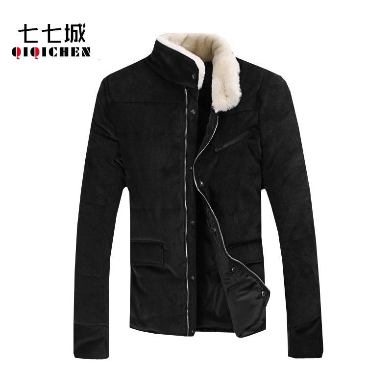 Kış Sıcak Kalın erkek Rahat Yeni 2016 Pamuk-Yastıklı Rahat Kalınlaşmak Kabanlar Erkek Sıcak Aşağı Ceket Ceket Parkas erkekler